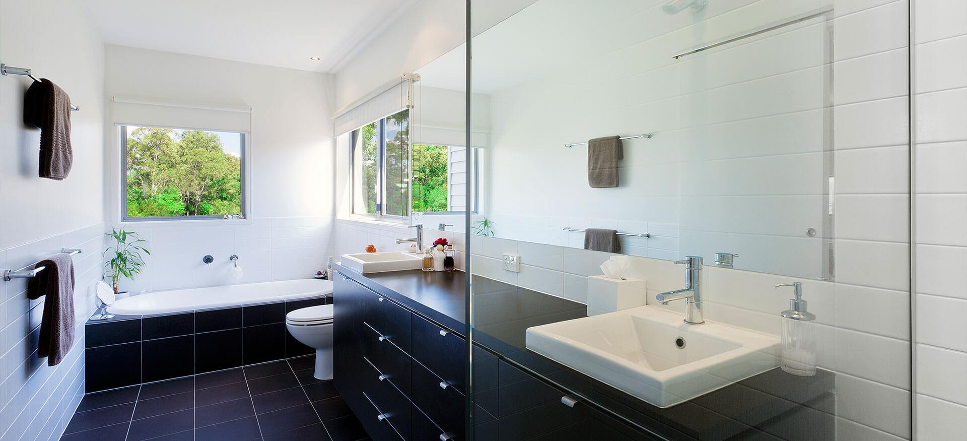 Haustechnik Commes Badgestaltung